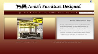 Amish Furniture Designed