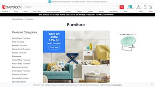 Overstock Furniture