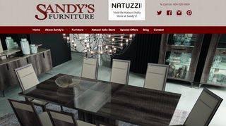 Sandy's Dining Furniture