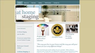 At Home Staging